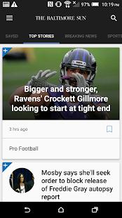 Baltimore Sun- screenshot thumbnail