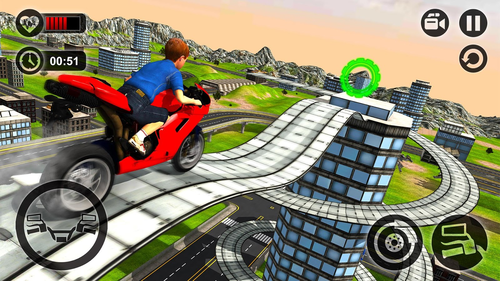 Kids MotorBike Stunt Rider 3D - Android Apps on Google Play