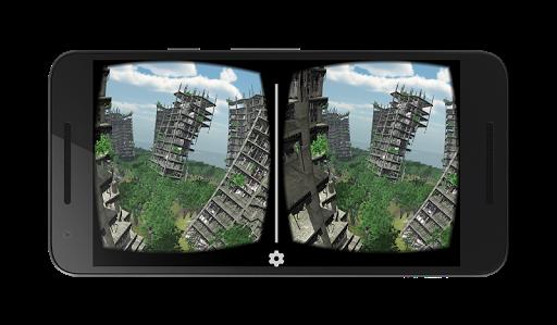 VR abandoned city 360  screenshots 1