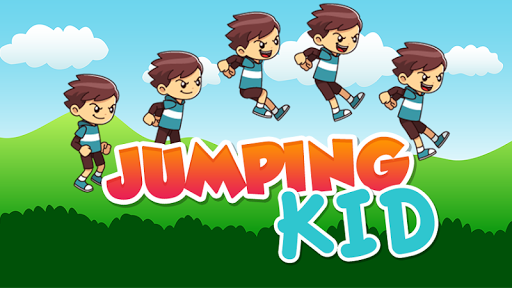 Jumping Kid Adventure game