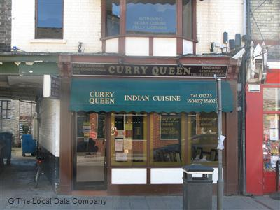 Curry Queen On Mill Road Restaurant Indian In City