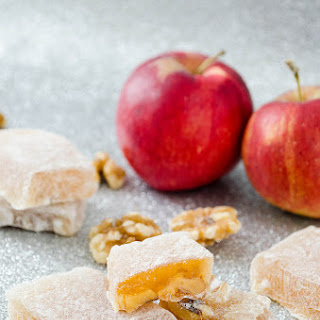 Aplets (Apple Walnut Turkish Delight).
