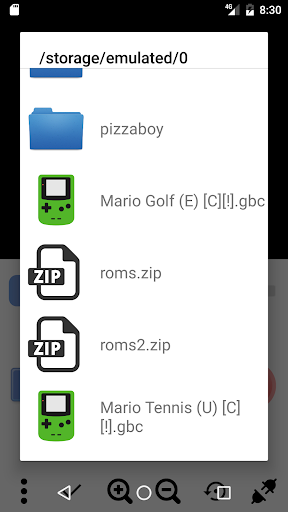 Pizza Boy Pro - Game Boy Color Emulator  screenshots 7
