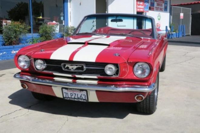 1965 Ford Mustang  / Reno P.S. Hire CA