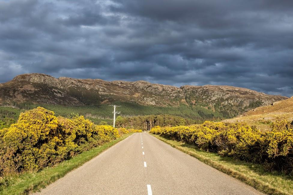 Szkocja, North Coast 500, droga