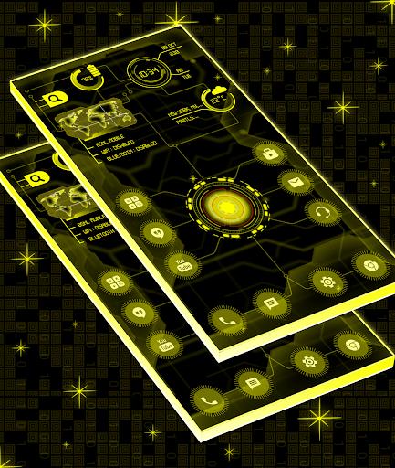 Circuit Launcher 2019 Pro - Next Generation theme  screenshots 2