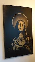 "Photo: Galerie Pretty Portal; Stencils Only 2016; FAKE""Cry for Krylon"""
