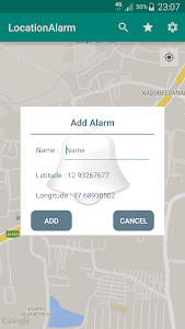 Location Alarm screenshot 1