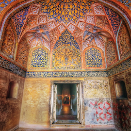 Inside Humayun's tomb,Delhi,India by Amrita Bhattacharyya - Buildings & Architecture Architectural Detail