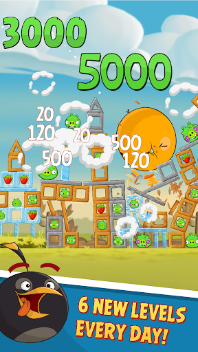Angry Birds Classic game (apk) free download for Android/PC/Windows screenshot