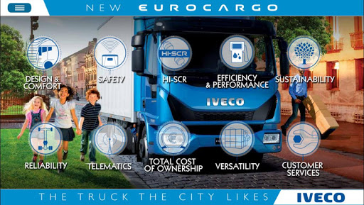 IVECO NEW EUROCARGO phones
