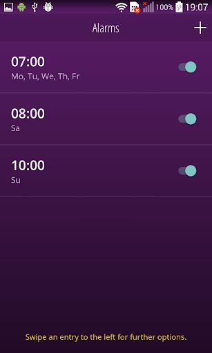 Sunrise Alarm Clock: Wake up naturally with light 1.3.7 screenshots 2