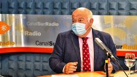Jesús Aguirre, este jueves en la entrevista en Canal Sur.