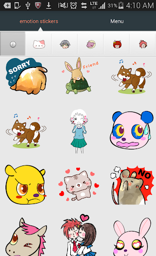 Emoji Stickers for chat Apps