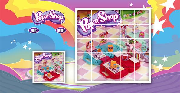 Download Pop'n'Shop Slide Puzzle For PC Windows and Mac apk screenshot 1