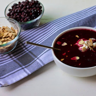 Swedish Blueberry Soup - Breakfast.