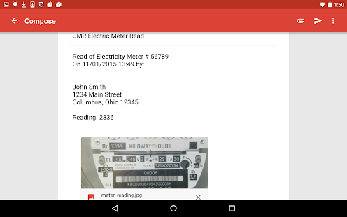 Utility Meter Reader- screenshot thumbnail