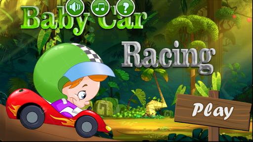 Jungle Baby Car Racing