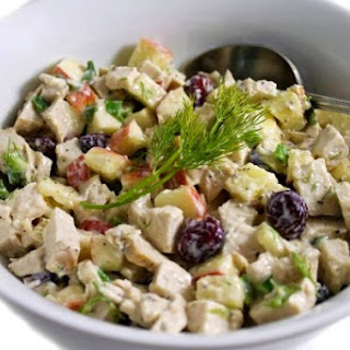 SkinnyFabulous Fruited Chicken Salad