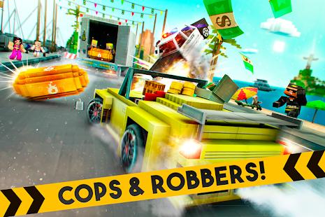 Robber Race Escape- screenshot thumbnail