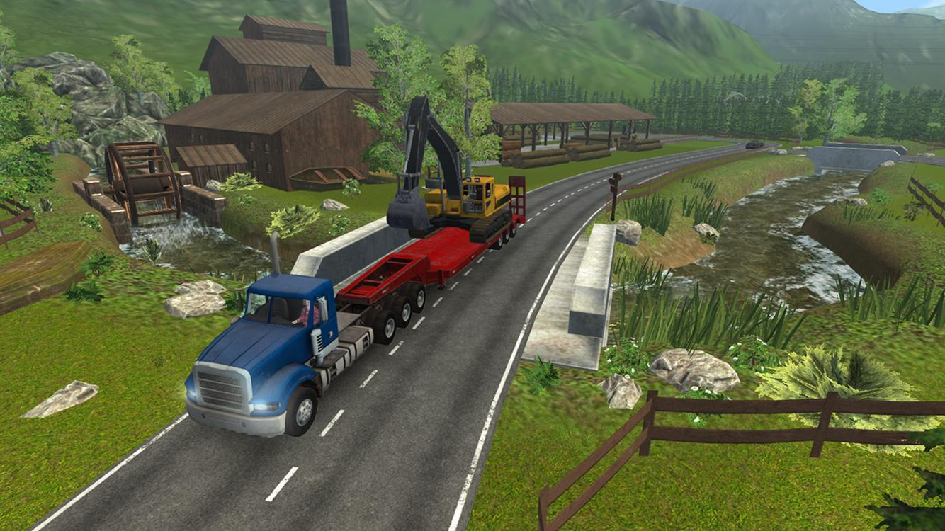 Construction Simulator PRO 17 – zrzut ekranu