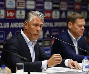 Anderlecht pourrait partir en stage avec son entraîneur: l'issue est proche!
