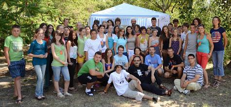 Photo: A Temes (tini) altábor résztvevői