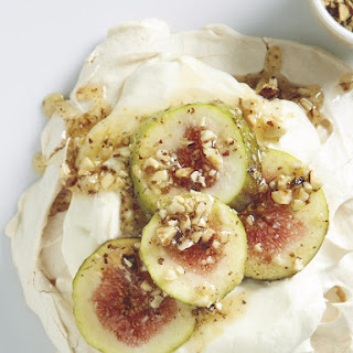 Fig Hazelnut Meringues