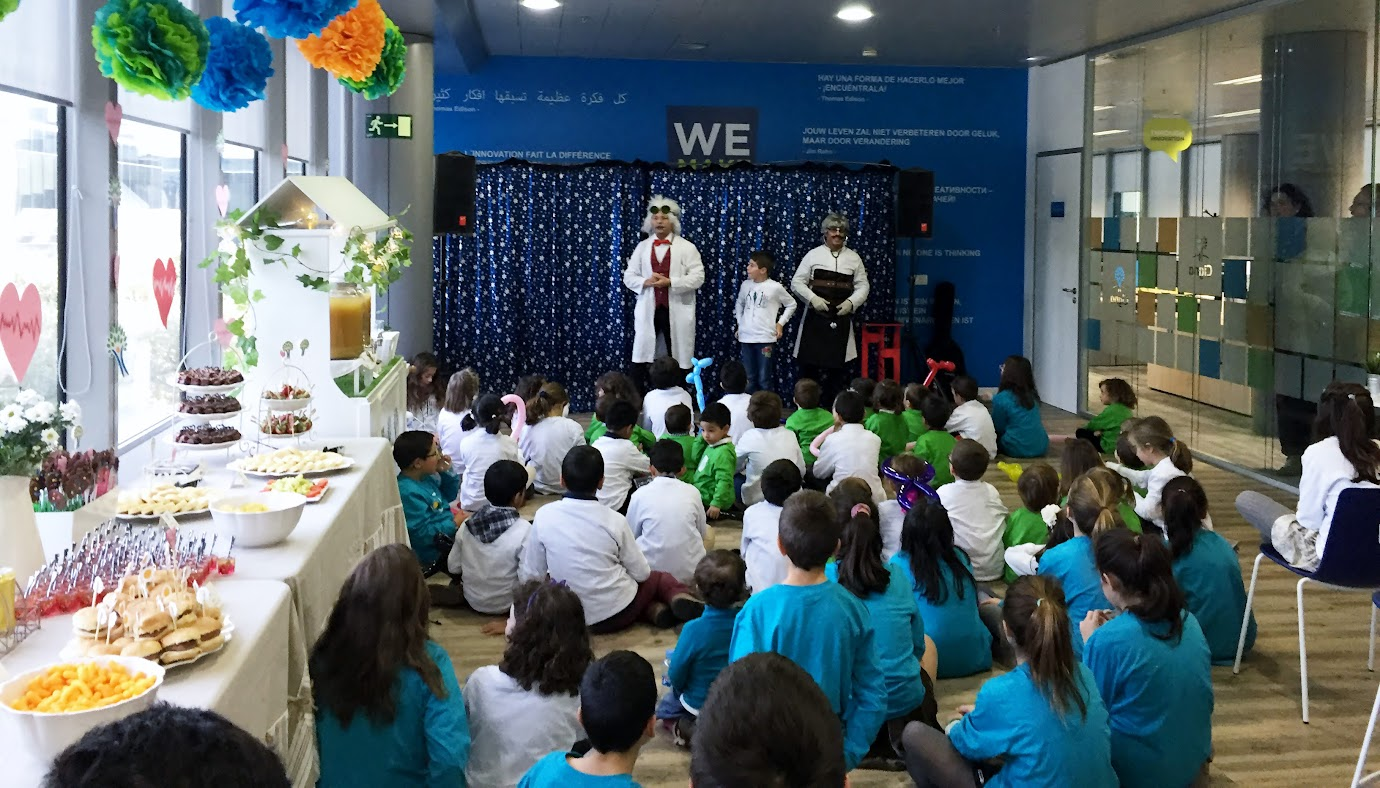 Show de magia infantil family day Cigna mago en madrid 2015