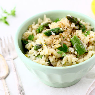 Asparagus + Spring Onion Risotto