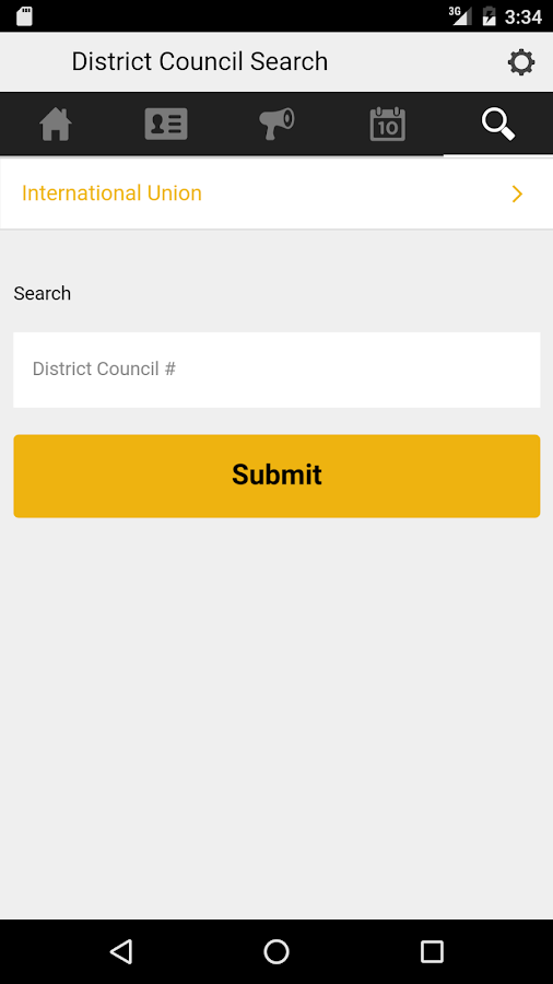 IUPAT Mobile Member Portal- screenshot