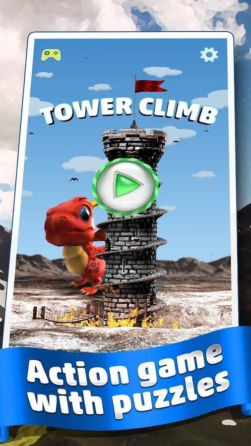 🏰 Dragon Climb - Spiral Tower- screenshot