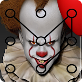 pennywise pattern lock screen