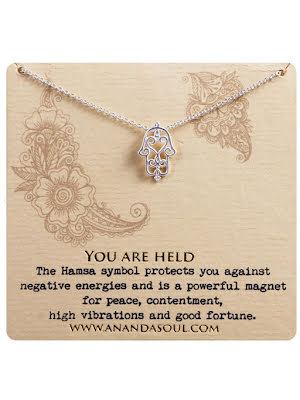 YOU ARE HELD halsband silver