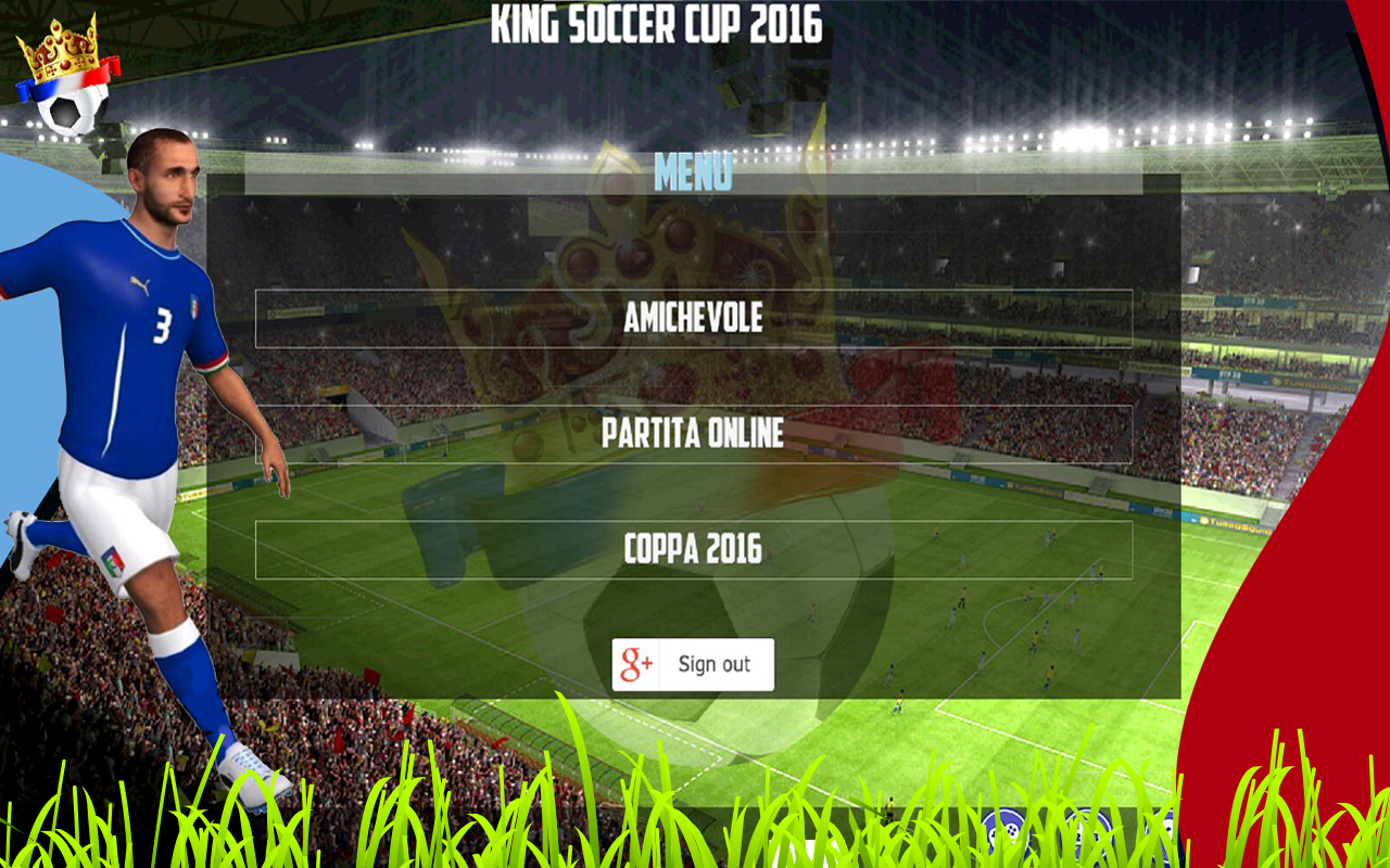 King Soccer Cup 2016- screenshot