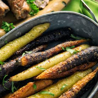 Simple Herb-Seasoned Carrots.