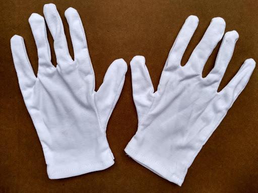 Găng tay vải cotton trắng bắc ninh hà nội hưng yên bắc giang