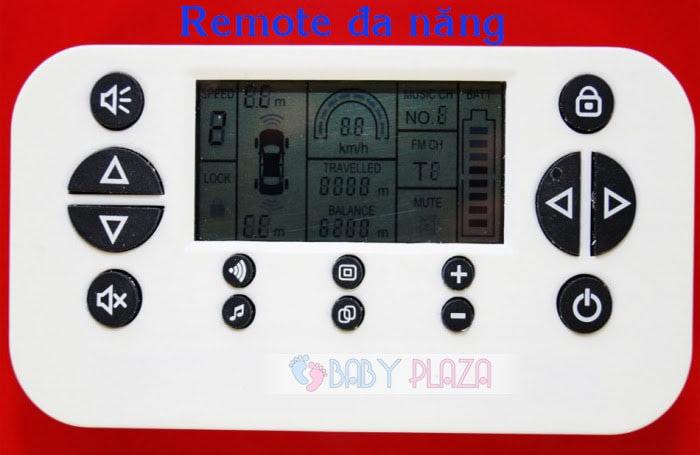 Ô tô điện trẻ em SX-1538 có Radar 12