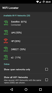 WiFi Locator Screenshot