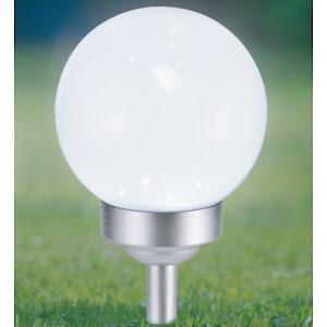 Lampa solara glob, 2 in 1, inaltime 35 cm