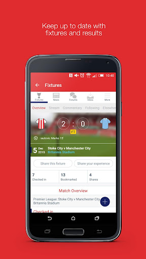 Fan App for Stoke City