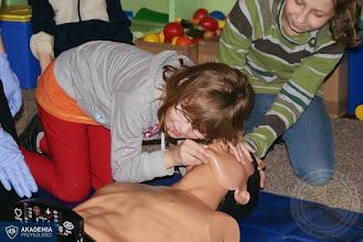 Photo: Kurs pierwszej pomocy w ramach Akademii Przyszłości