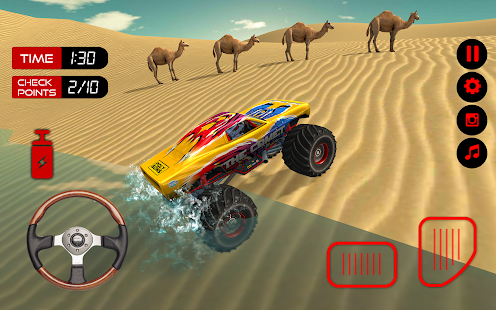 Offroad Monster Truck Simulator 3D : Hill Climb - náhled