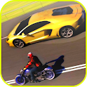 moto superbike rider icon