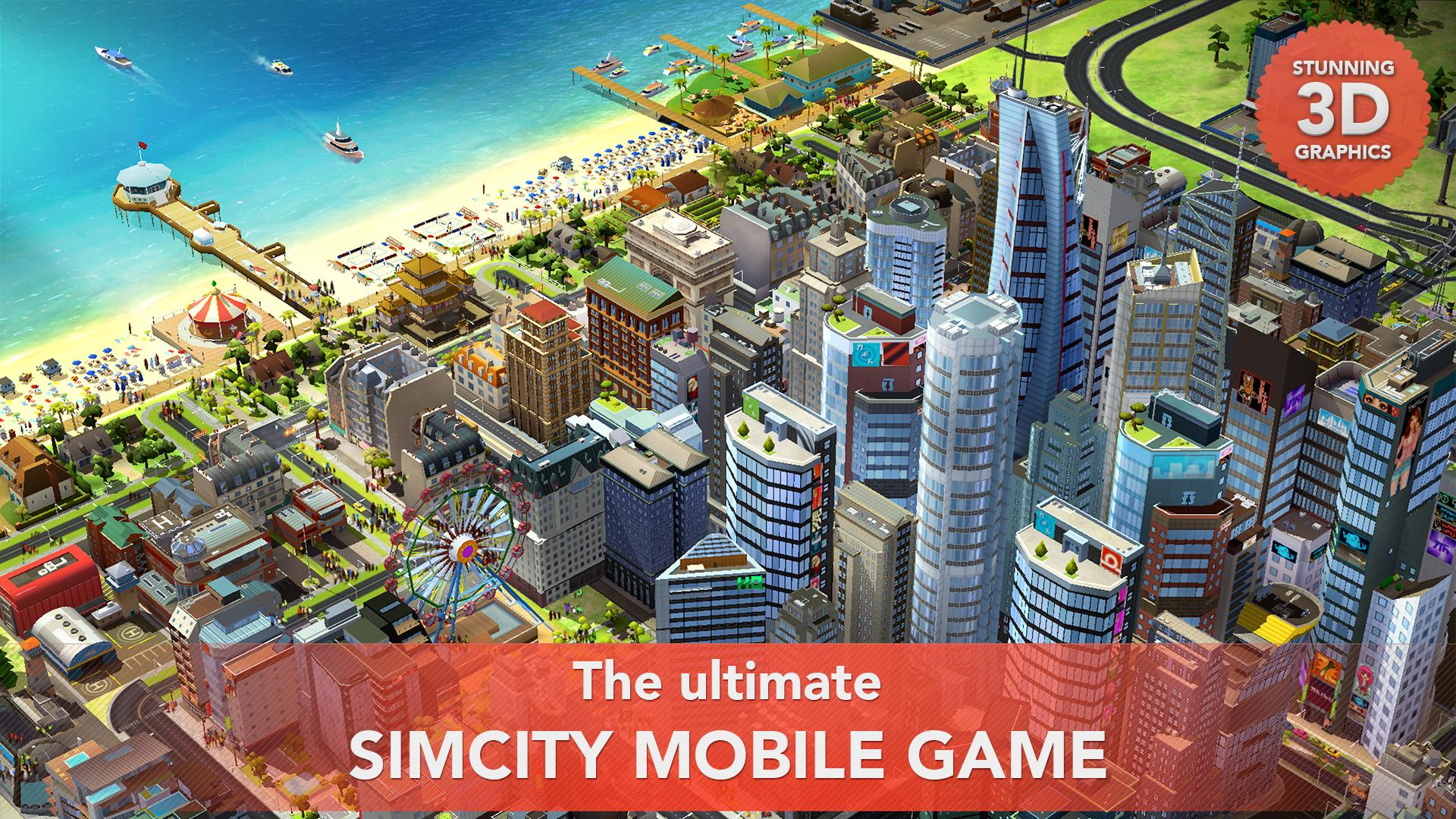 SimCity BuildIt screenshot #8