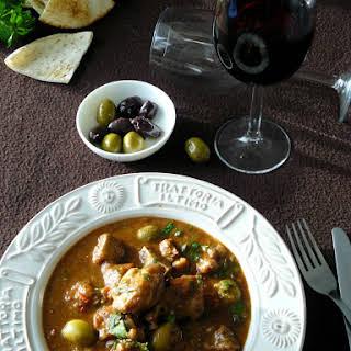 Italian Lamb Stew in Red Wine.