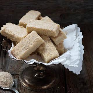 Maple Sugar Shortbread Cookies.