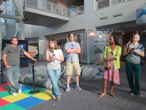 Photo: NASA Social SpaceTweeps introductions!