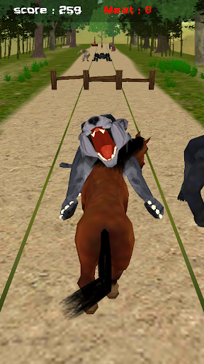 Jungle Horse Run 3D
