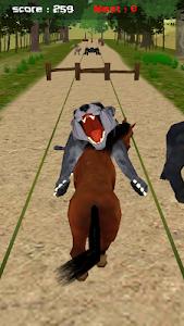 Jungle Horse Run 3D screenshot 0